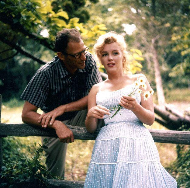 Monroe arthur miller marilyn Arthur Miller