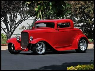 1932 Ford 3-Window Coupe.