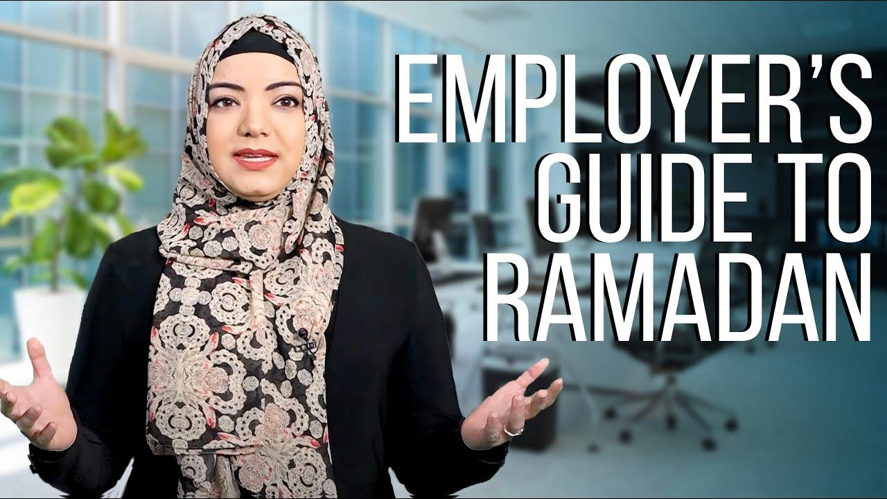 Employer's Guide to Ramadan | Dr. Safiyyah Ally 🧕