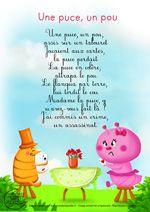 Paroles_Une Puce, Un Pou | Comptines, Chansons Comptines Et Comptines  Enfants