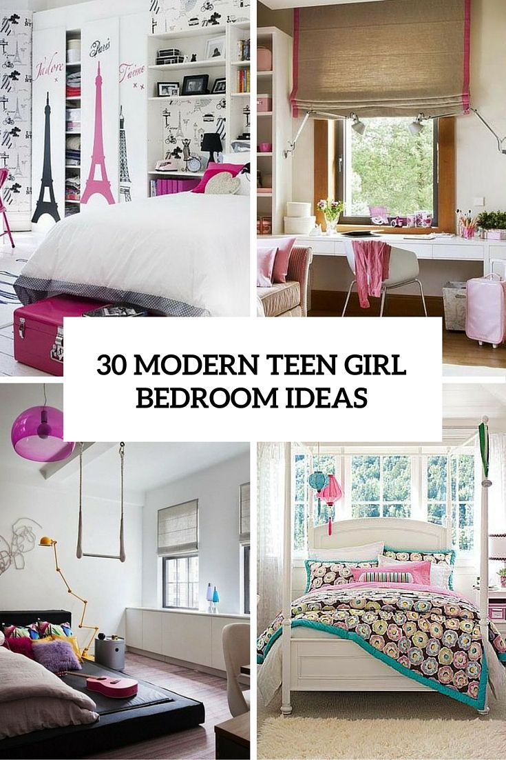 30 Modern Teen Girl Bedrooms That Wow … Pinteres…