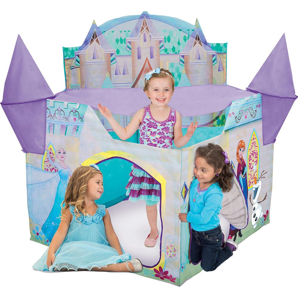 Video For Playhut Play Tent Frozen Castle Showcasing
