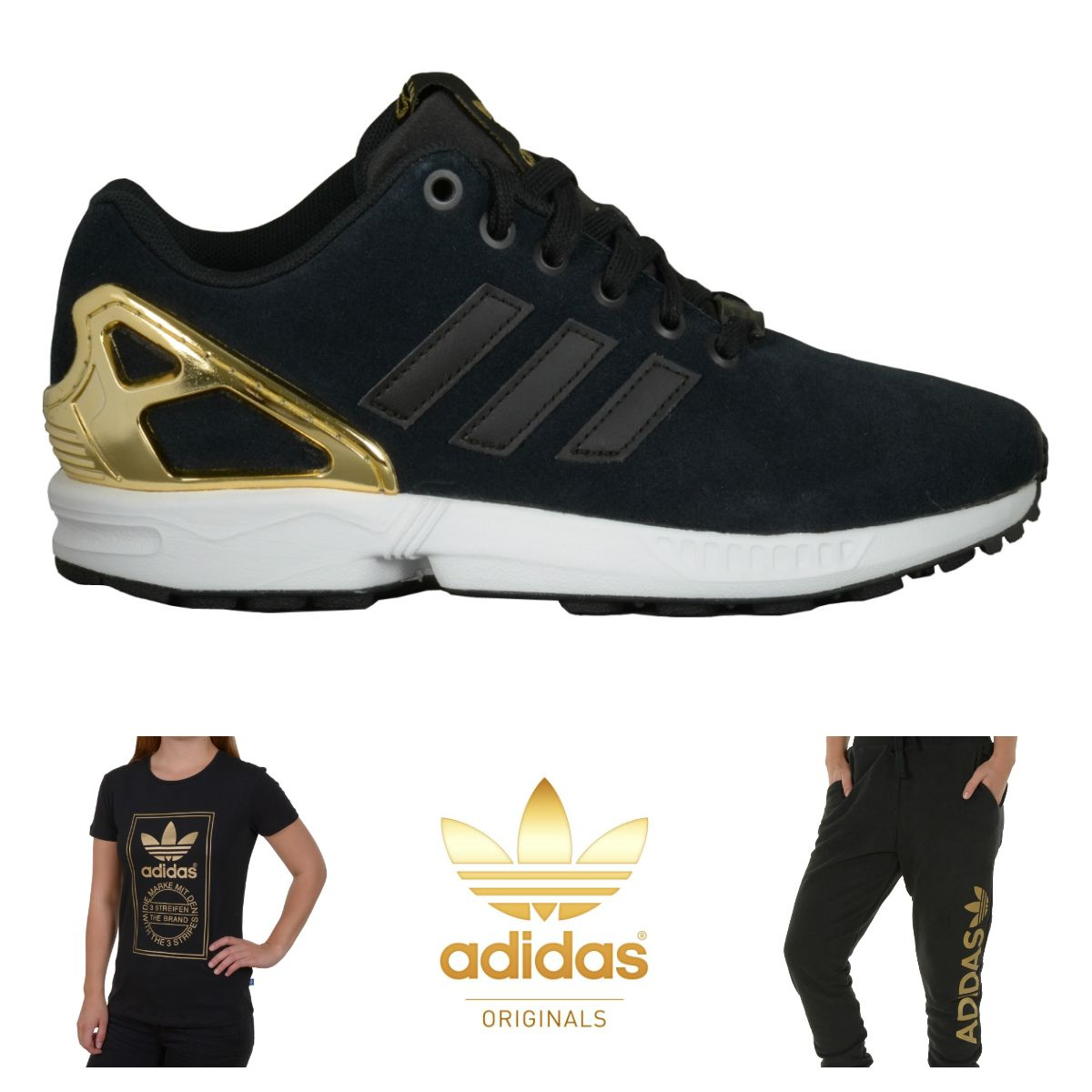 Adidas Flux Gold Bottom