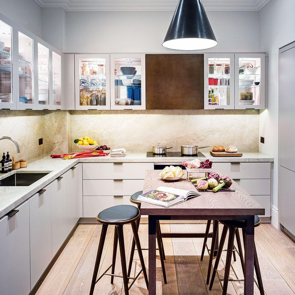Kitchen window ideas modern  cool contemporary kitchen with no windows  kitchen  pinterest