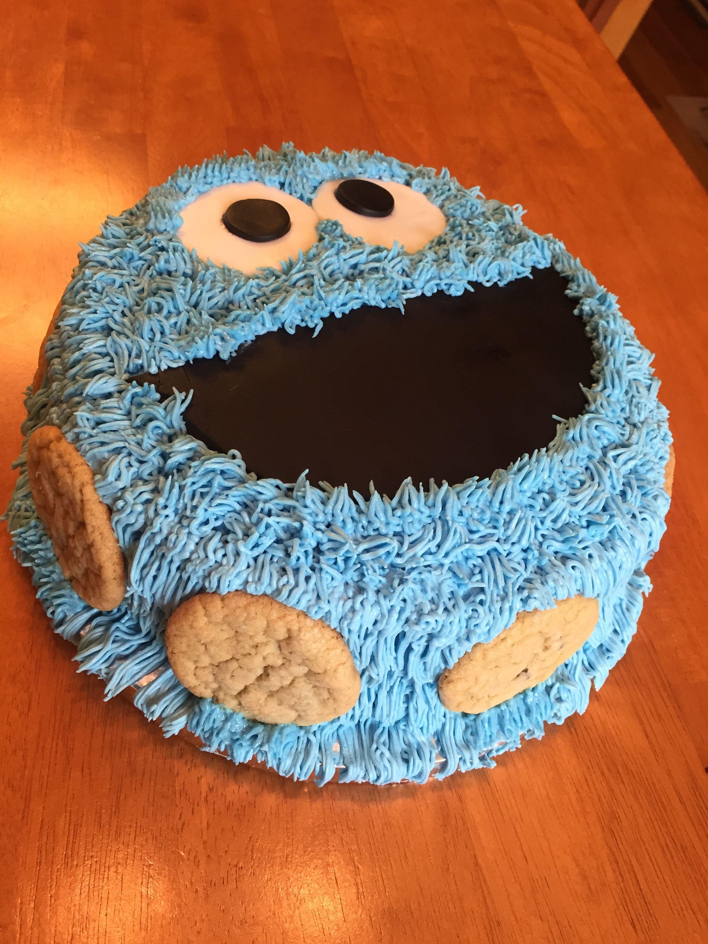Cookie monster cake cookie monster cake monster cookies