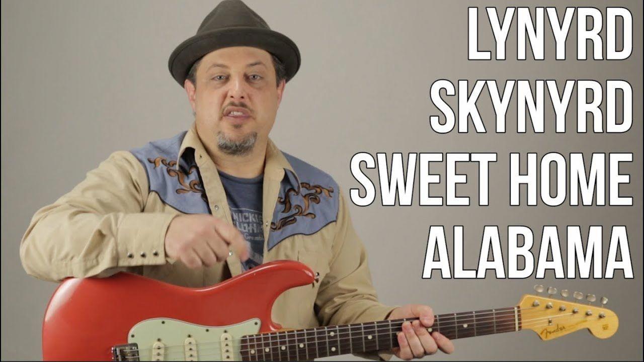 How to play sweet home alabama on guitar lynyrd