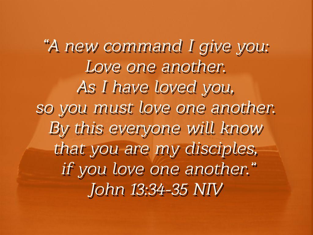 John 133435 NIV John 13, John 13 34, Everyone knows