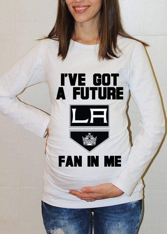 more photos 4c354 420bc LA Kings Baby Los Angeles Kings Shirt Long Sleeved by ...
