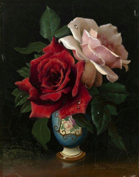 Irene Klestova (1908-1989) -Roses,