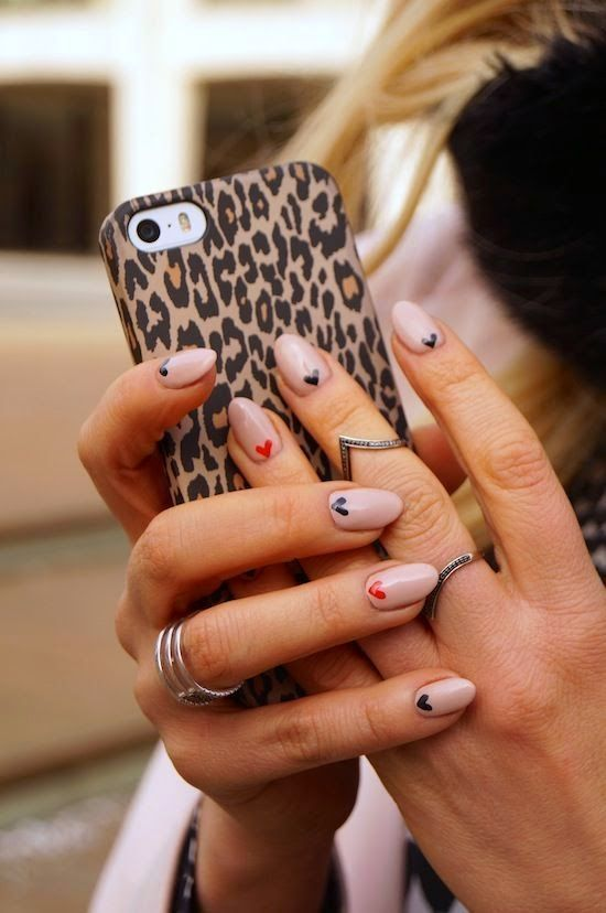 The Best Valentines Day Nails on Pinterest - living after