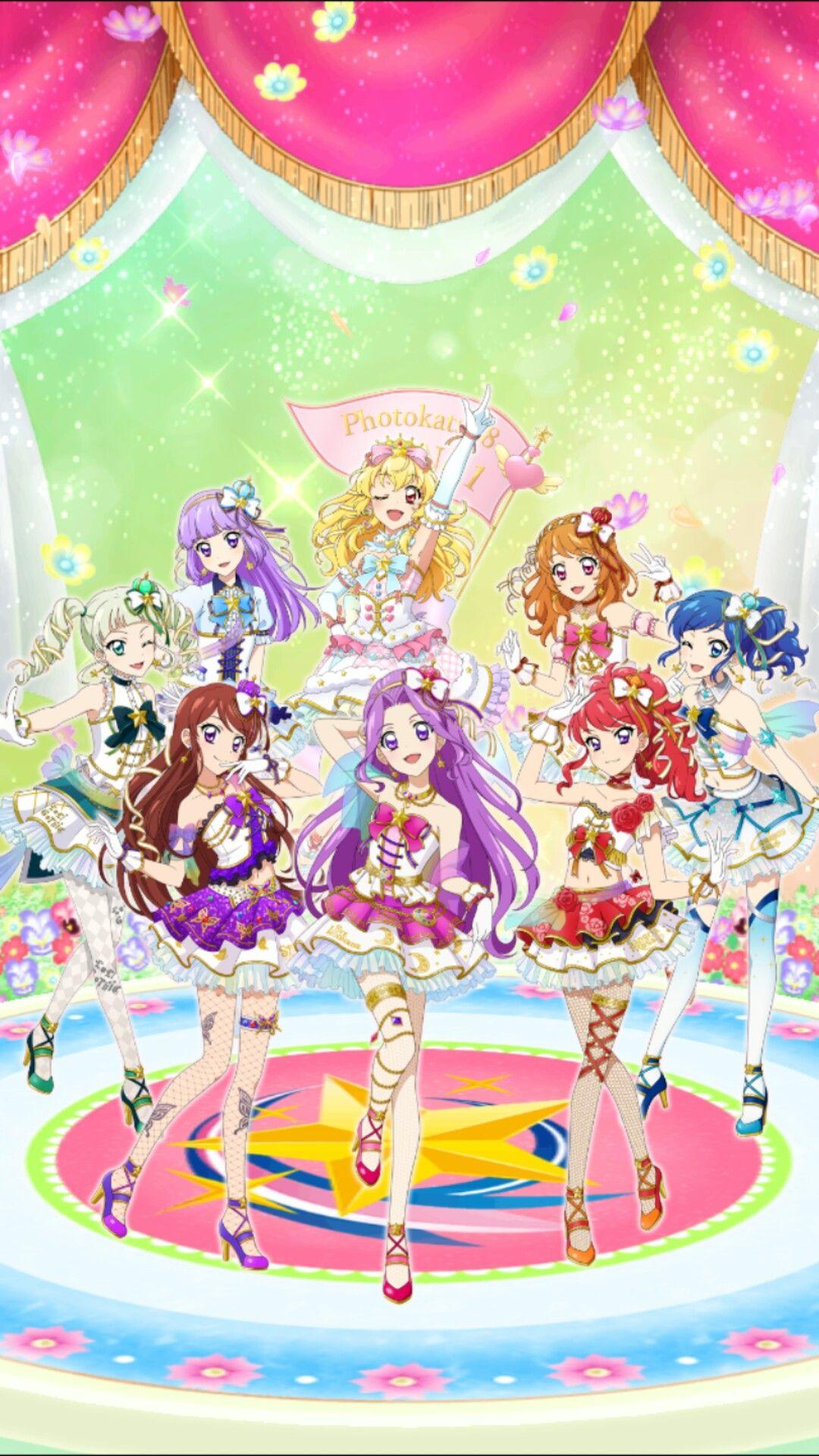 Photokatsu 8 Gadis Animasi Kartun Gambar Anime