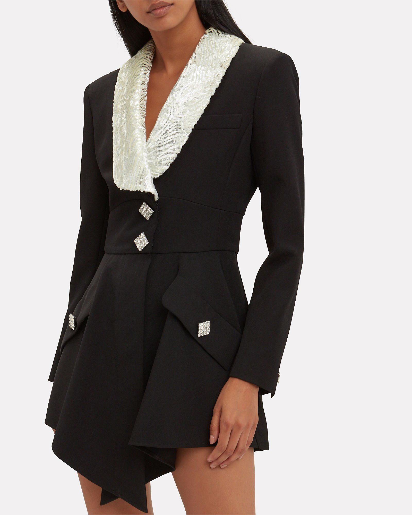 3757a7146dc Hourglass Crystal Mini Dress