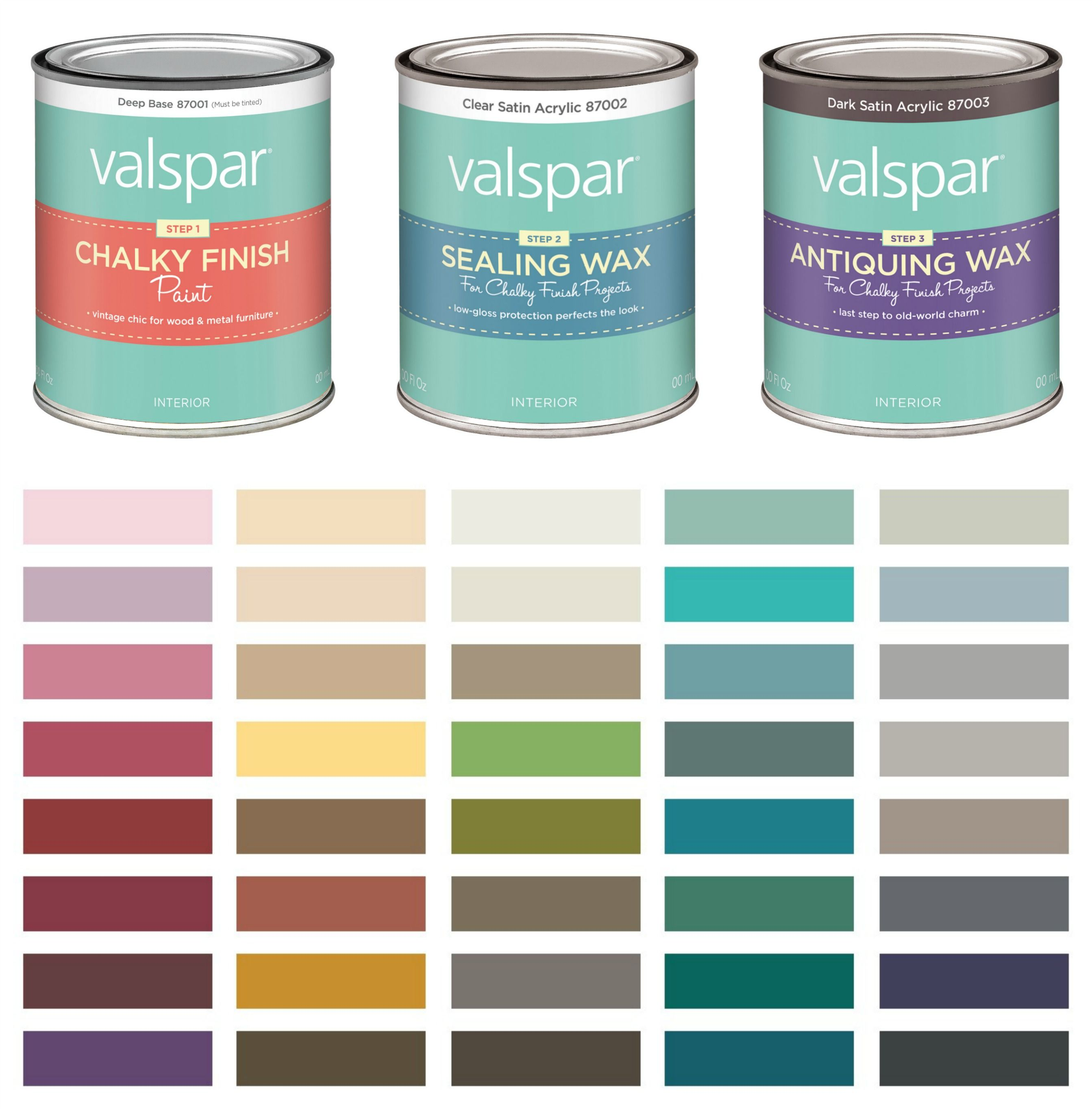 chalk paint colors lowes Jewelry Armoire Makeover with Valspar Chalky Finish Paint | home  chalk paint colors lowes