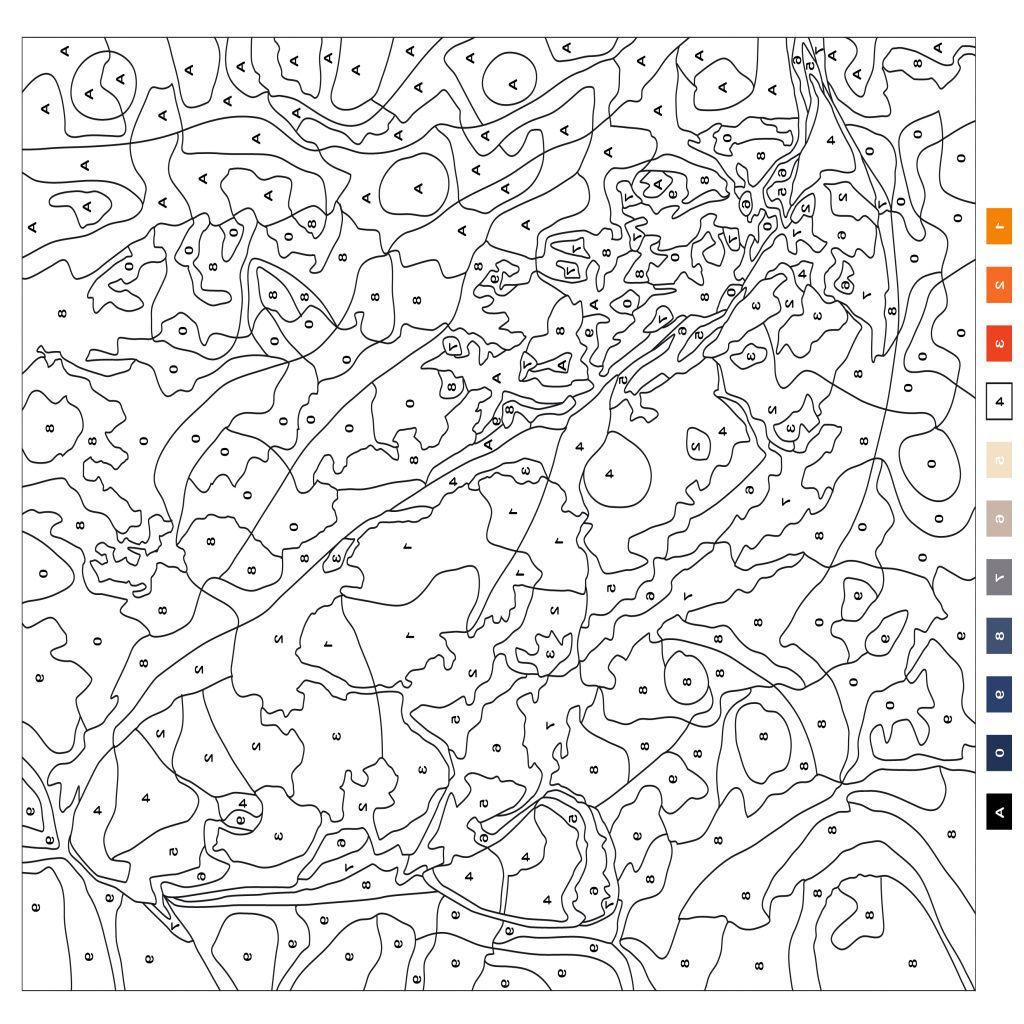 Coloriage mystère à imprimer actu jeux  Coloriage mystere disney