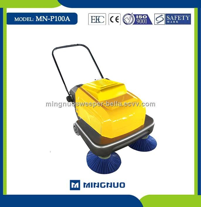 Walk Behind Sweeper Garage Sweeper Electric Floor Cleaning Brush Street Sweeper Mn P100a China Street Sweeper Mi Cleaning Equipment Cleaning Road Sweeper