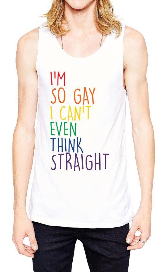 f8fd9c497e Gay Pride Tank - Gay Wedding Gift - Gay Couples - Gay Men - Gay Shirt - Gay  Anniversary - Gay Bachelor Party - Gay Clothing - Gay Gift by Umbuh