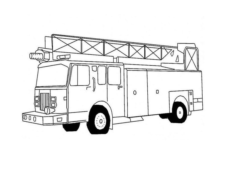 Fire Truck Coloring Pages Pdf In 2020 Firetruck Coloring Page Truck Coloring Pages Monster Truck Coloring Pages