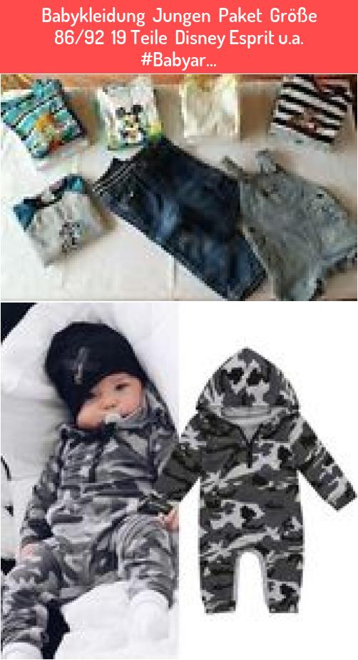 Babykleidung  Jungen  Paket  Größe 86/92  19 Teile  Disney Esprit u.a. #Babyar…