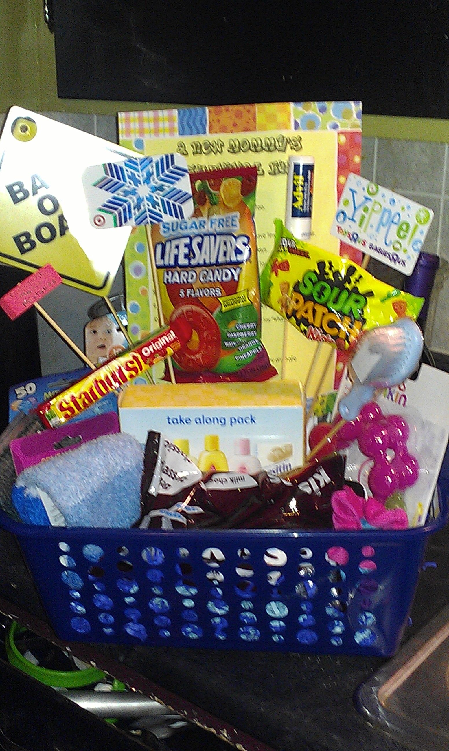 Basket for new mom with images gifts for new moms diy