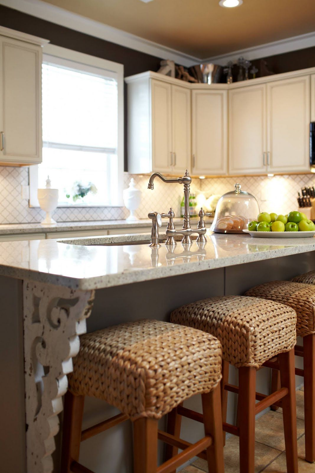 abode love: a man's home is his wife's castle: kitchen
