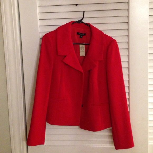 Ann Taylor Red Woman's Blazer New with tags. Ann Taylor Jackets & Coats Blazers