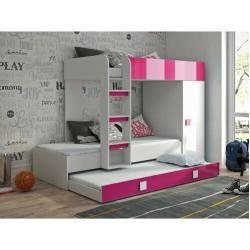 Lits superposés avec lit gigogne, 180 x 255 cmWayfair.de  – Products