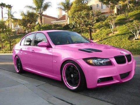 Pink? Not so sure, but it is super girlie! | BMW inspiration ...