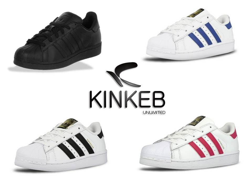 b0d2bbb5 adidas Superstar Foundation C Numeración: 17,18, 19, 20, 20.5, 21 ...