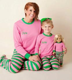 youth  pajamas pajamas monogrammed pajamas sorority gift big lil pajamas monogrammed christmas pajamas