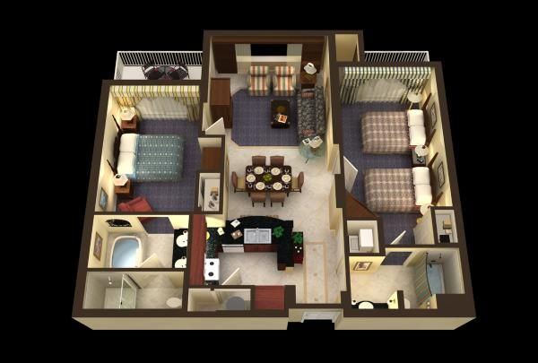 Marriott S Frenchman S Cove Floor Plan Floor Plans