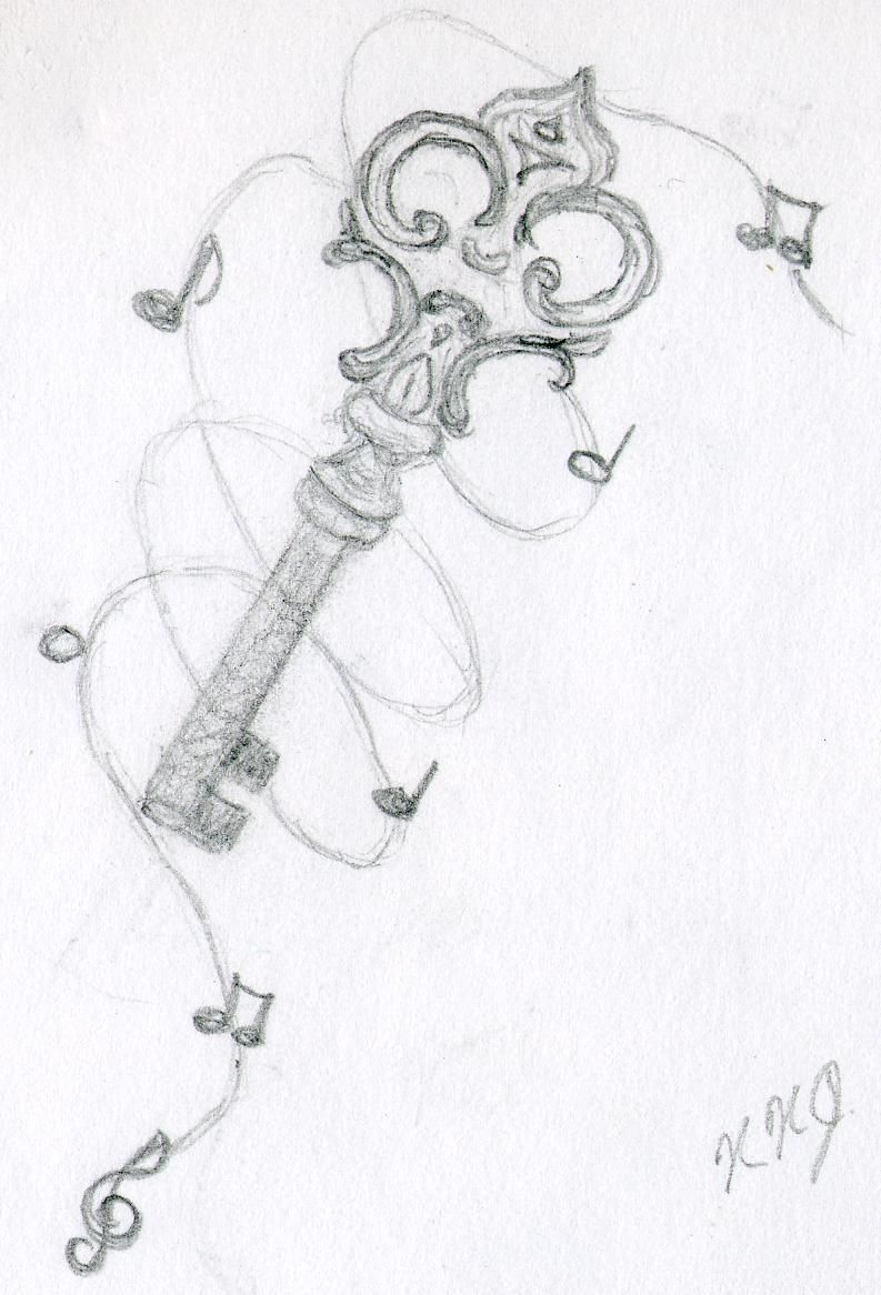 Sketch idea i did to show that music is one of the key foundations to my life and opportunities
