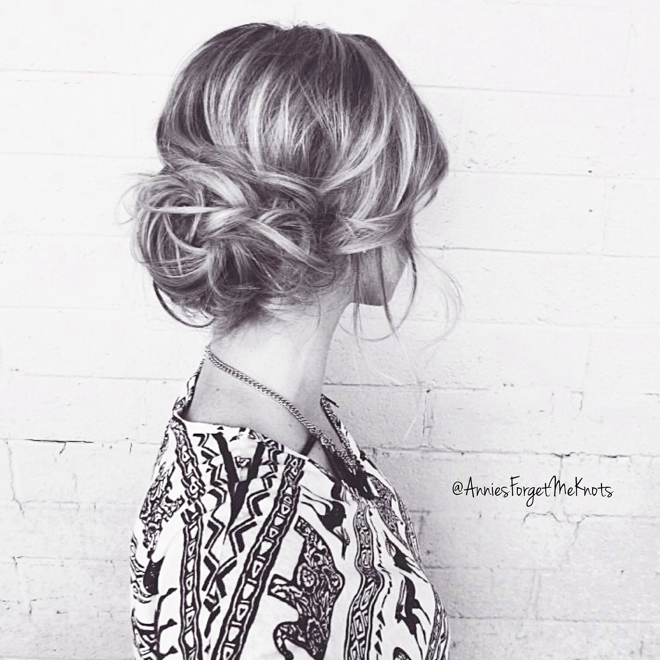 Loose curled updo | The Big Day - Hair | Pinterest | Updo, Updos and ...