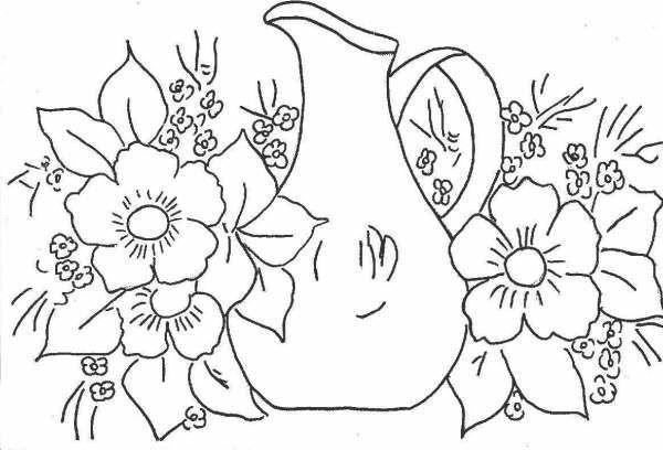 Patrones de flores para pintar sobre tela | modelos de faldas ...