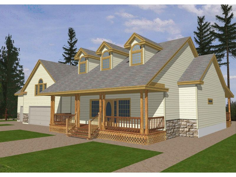 Calgary Country Ranch Home House Plans Architectural Design House Plans Country House Plans