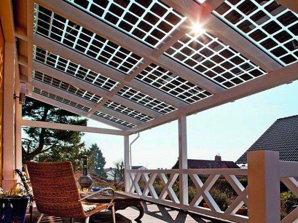 Strom Erzeugen Mit Durchblick In 2020 Glasdach Strom Erzeugen