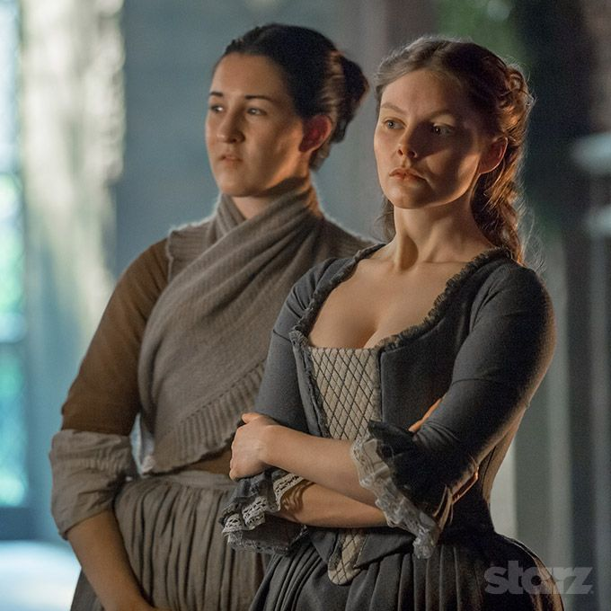 Laoghaire Testifies At The Witch Trial She Promises To Dance On Claire S Ashes Outlander Costumes Outlander Season 1 Outlander Knitting