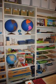 Geography and Culture Shelves