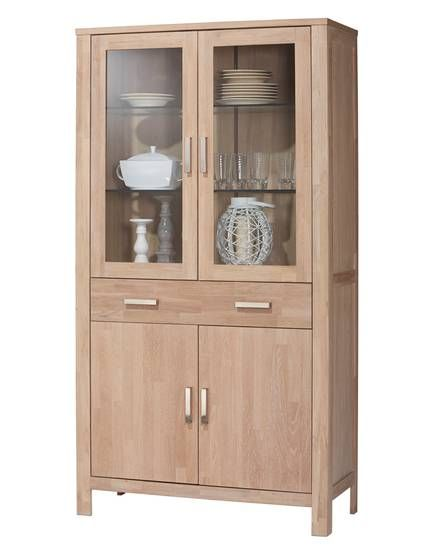 Küche Dänisches Bettenlager Gebraucht Vitrine »nordic Oak« | China Cabinet, Oak, Home Decor