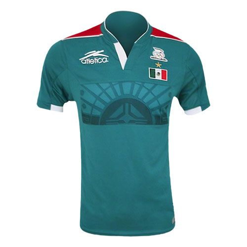 56bb4119f atletica Mexico Olympic 2012 Home Soccer Jersey