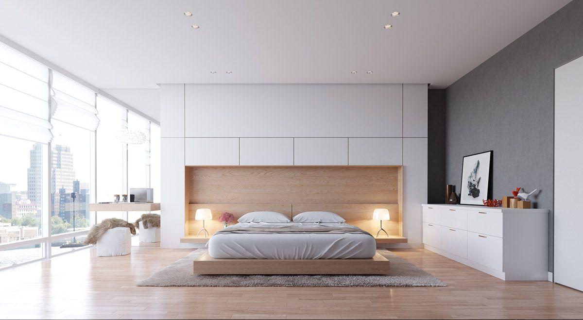 Urban loft bedroom  ST