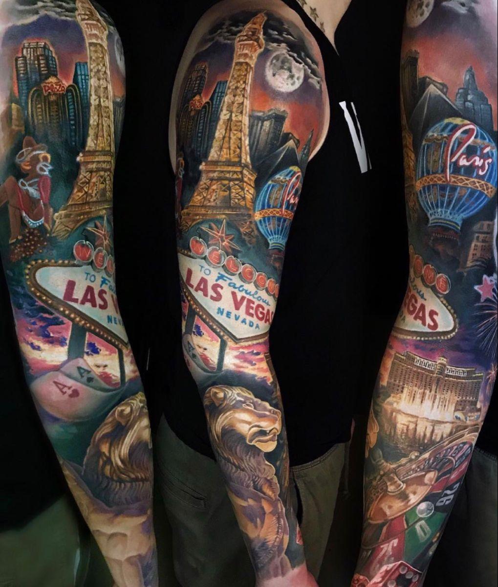 #lasvegastattoo #lasvegasphotography #tattooideas #tattooart #tattoodesign #lasvegastrip #londontattoo #tattooart #colortattoo #realistictattoo #colorrealism #londontattoostudio #lasvegas