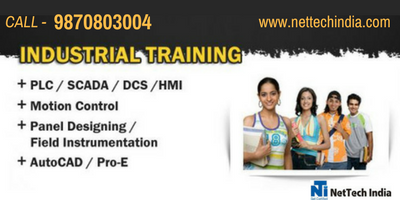 Are you looking for a Industrial Automation Course? NetTech India