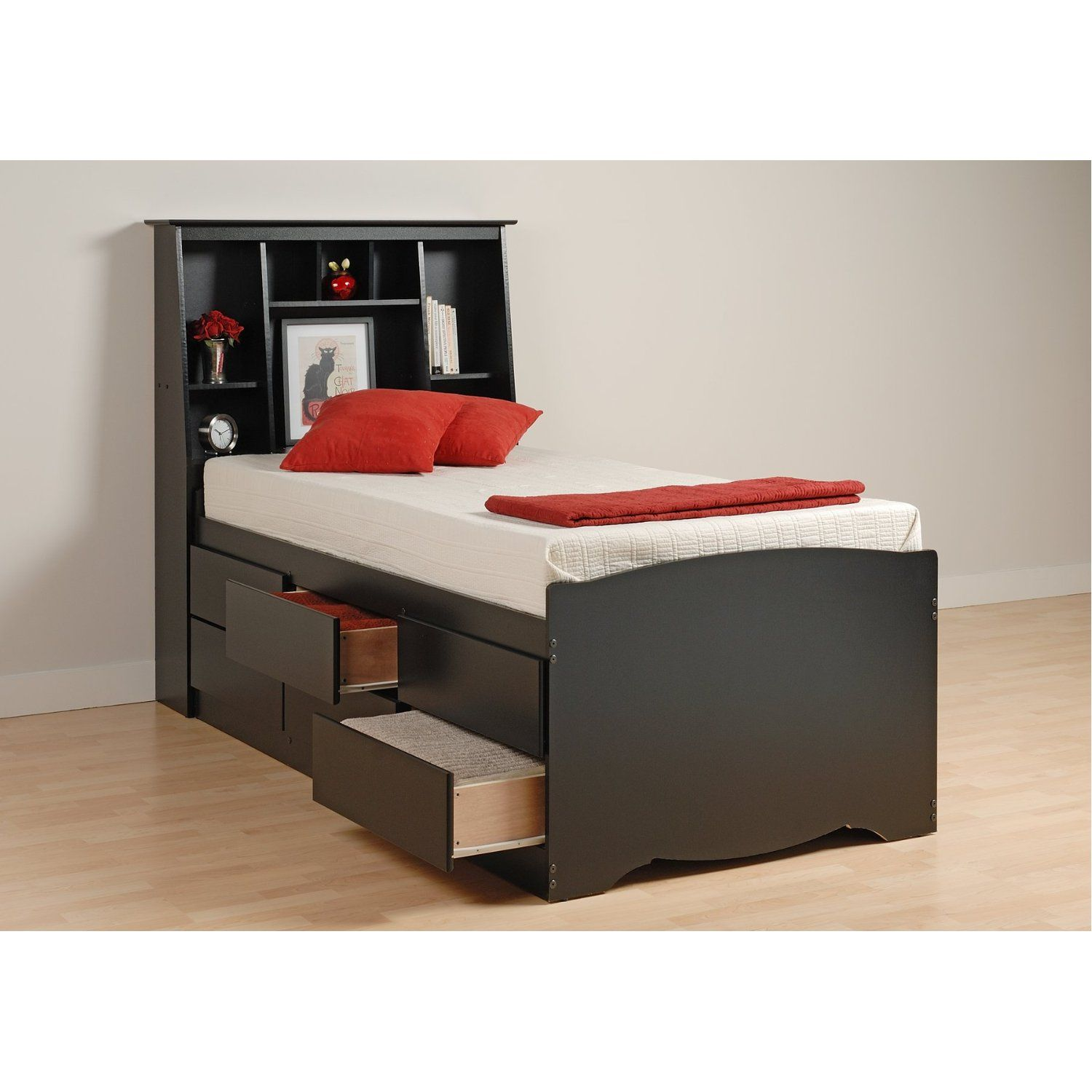 Twin Xl Bed Frame 6 Drawers 369 93 Twin Xl Bed Frame Small