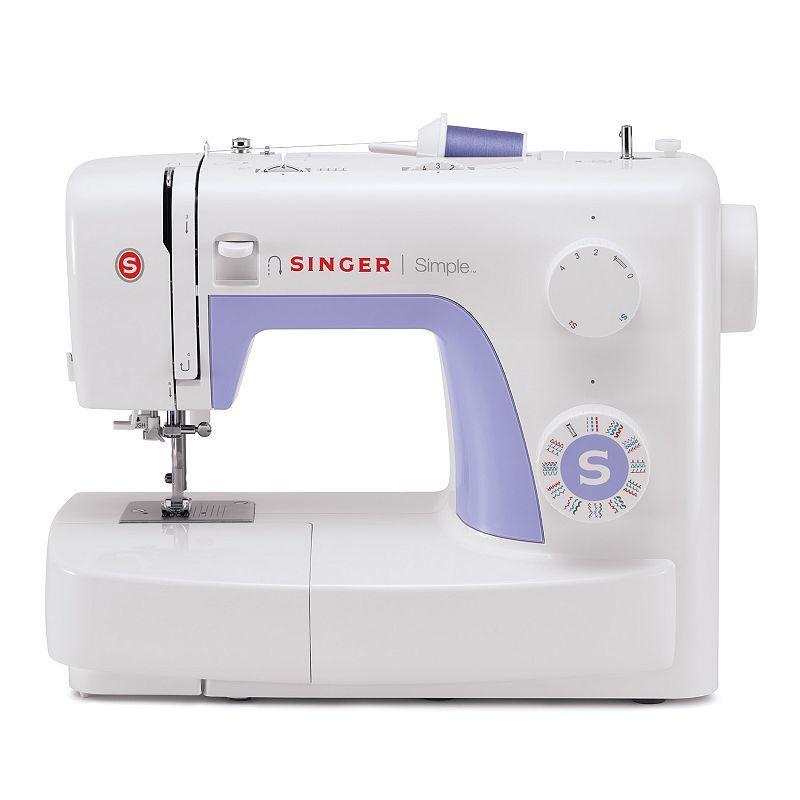 Singer 3232 Simple Sewing Machine, Multicolor