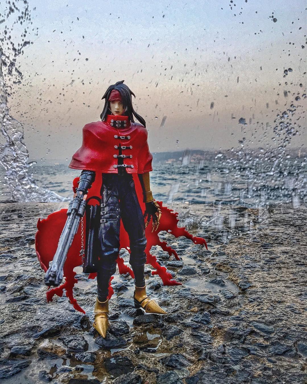 Prince of tides... #finalfantasy #finalfantasy7 #adventchildren #vincentvalentine #squareenix
