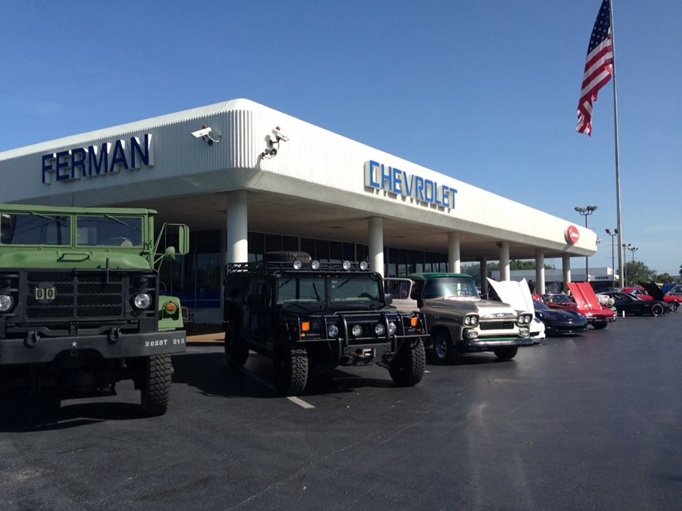We Have All Kinds Of Selection At Ferman Chevrolet Of Tarpon Springs!!!  (Actually This Was A Car Show) :)