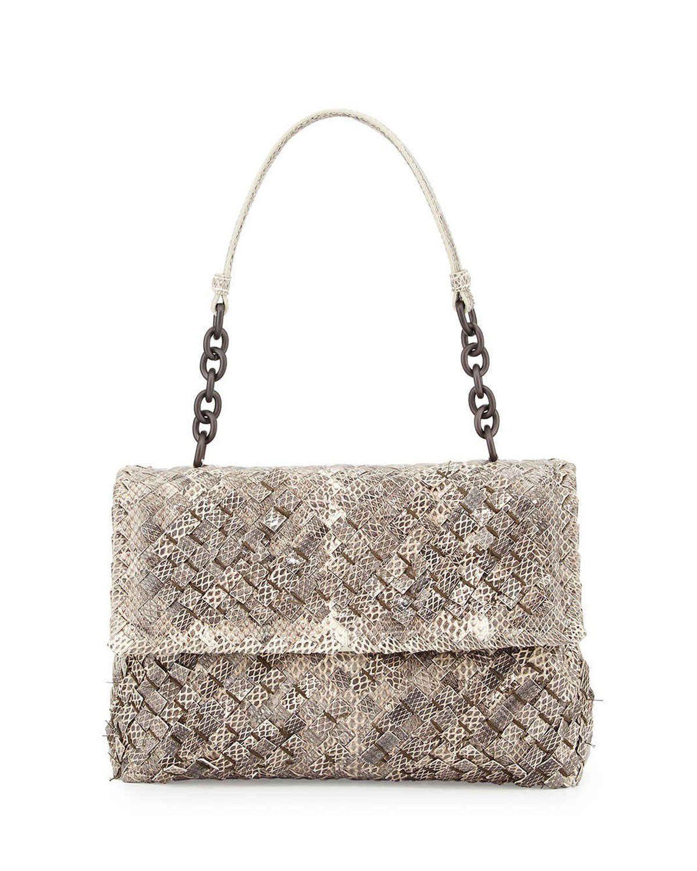 Bottega Veneta Olimpia Tobu Ayers Shoulder Bag Natural  bagsforsale ... 2a71b44f3c056