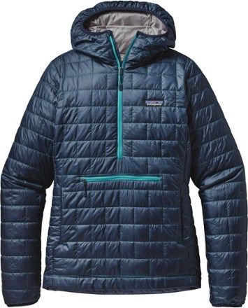 5c8bb18b3aa Women s Outdoor Jackets   Vests by Patagonia. going sustainable. Patagonia  Women s Nano Puff Bivy Pullover