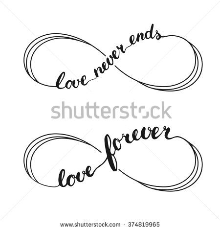 Lovely Love Infinity Symbols Tattoo Design Tatoo Pinterest