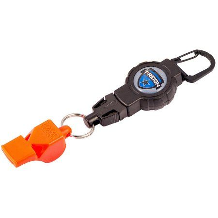 T-Reign Retractable Gear Tether with FOX40 Whistle